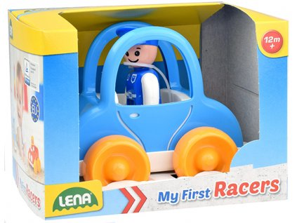 My First Racers policejní auto v okr. krabici