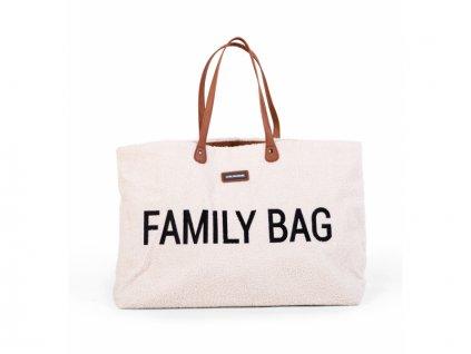Cestovní taška Family Bag Teddy Off White