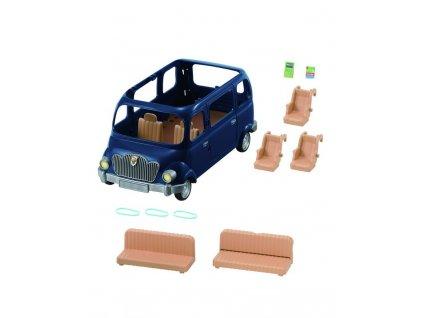 Sylvanian Family - Rodinné auto modré