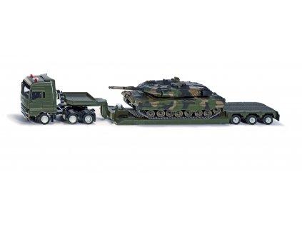 SIKU Super - Vojenský transportér s tankem