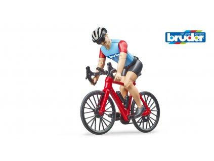 bworld - silniční kolo s cyklistou