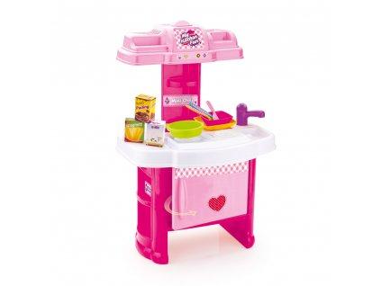 Dětská kuchyňka plastová s příslušenstvím