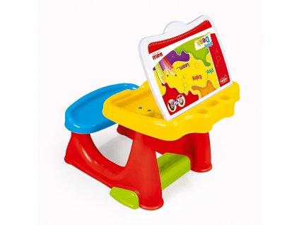 Velký dětský stolek s lavicí