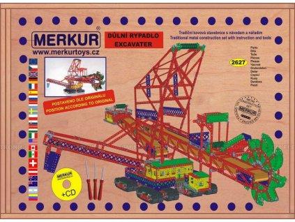 Merkur Maxi - Rypadlo, 2627 dílů