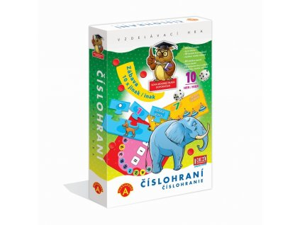 PEXI ČÍSLOHRANÍ (10 her v 1) - vzdělávací hra