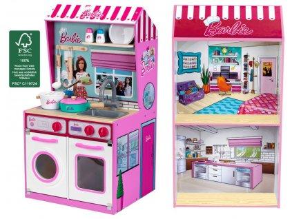 Kuchyňka Barbie s doplňky
