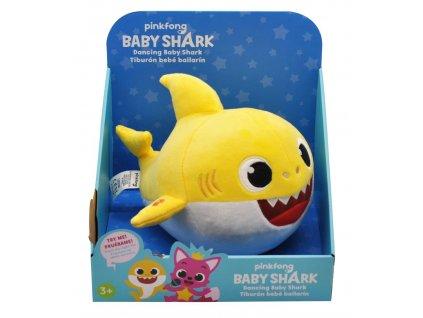 Baby Shark tančící, plyš