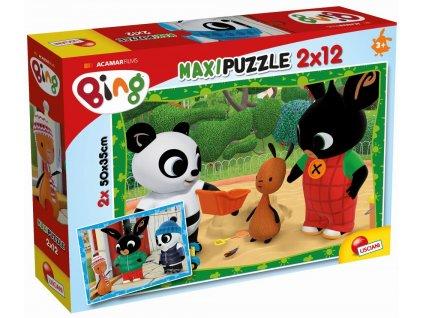 BING a jeho přátelé, puzzle 2x12