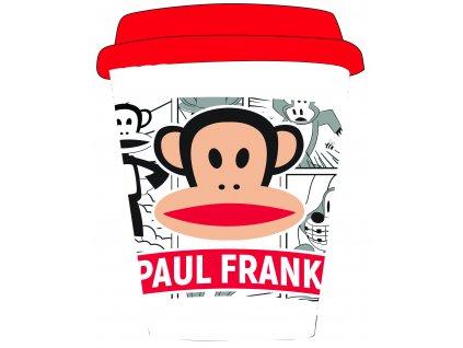Bambusový hrnek PAUL FRANK WHITE  400 ml