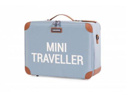 Dětský cestovní kufr Grey Off White