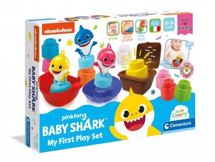 Clemmy baby - Baby Shark -  kostky