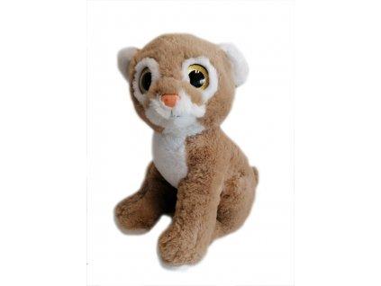 Puma hnědá 30cm