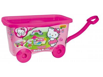 Unico Plus Hello Kitty - Vozík s kostkami