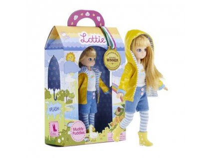 Muddy Puddles Lottie doll box grande