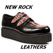 NEW ROCK LEATHERS-vzorník kůží