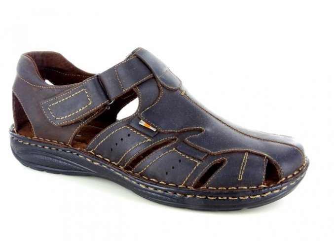 Pánské sandály BSL ATLANTIC304 CAFFE