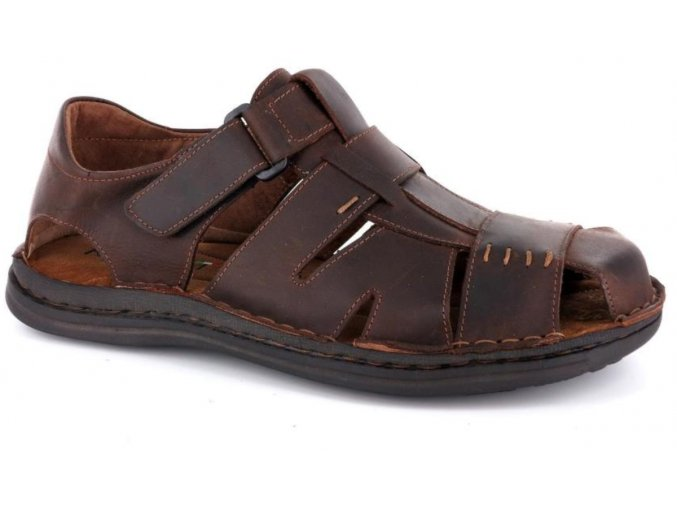 Pánské sandály ROBERT 85720SA T.MORO