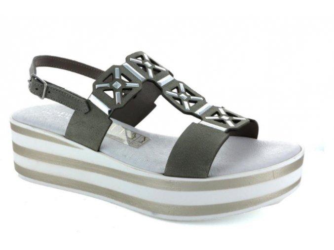 Dámské letní sandály IL CIABATTINO 664 TORTORA