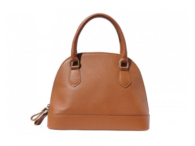 Dámská kabelka BOWLING TOTE barva kůže