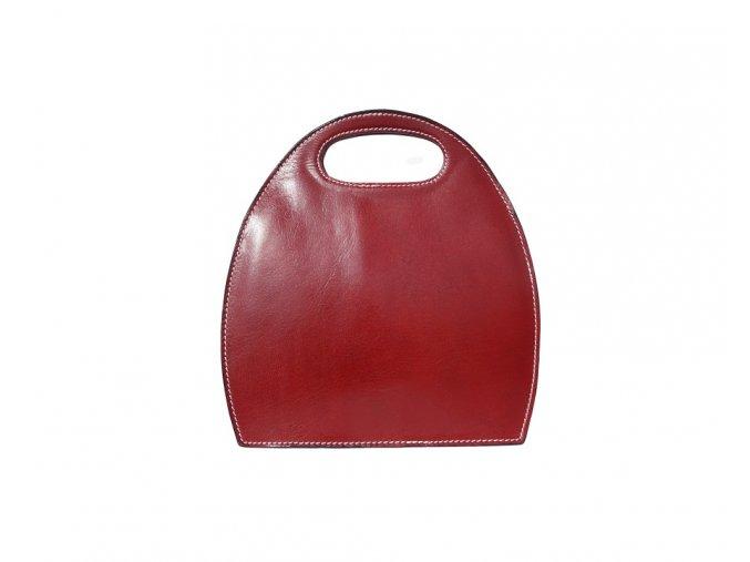 Dámská kabelka SEMI červená