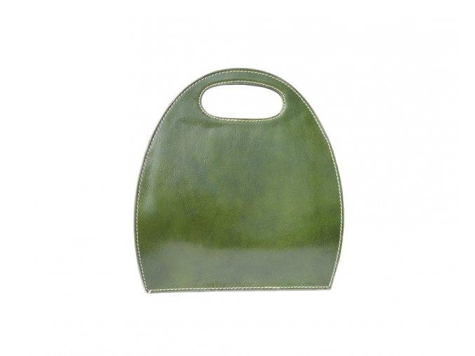 Dámská kabelka SEMI zelená