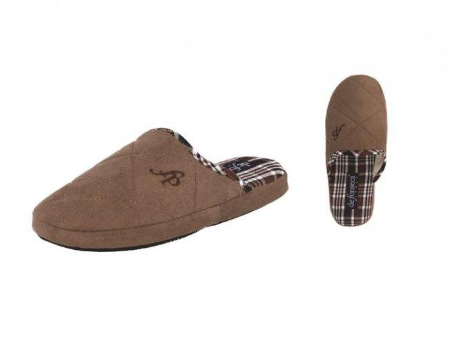 Pánská domácí obuv De Fonseca Milano-fango