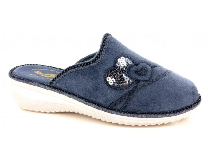 Dámská domácí obuv Gatta Nera 08-GRIGIO