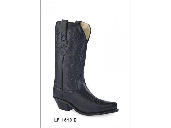 Jama Old West Boots MF1510 BLACK pánská westernová obuv