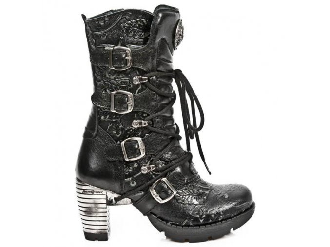 BOTY NEW ROCK M.TR003-C7 VINTAGE FLOWER NEGRO, ROCK NEGRO, TRAIL NEGRO ACE