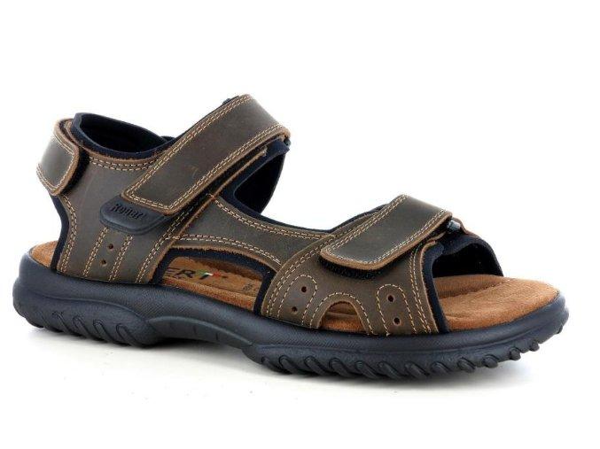 Pánské sandály ROBERT 857002SA MARRONE