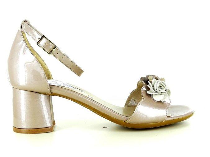 Dámské společenská obuv CONFORT 8422 CHAMPAGNE