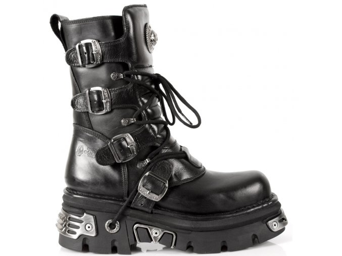 BOTY NEW ROCK M.373-S4 ITALI Y NOMADA NEGRO, REACTOR NEGRO E14 TOBERAS OR Y CAN