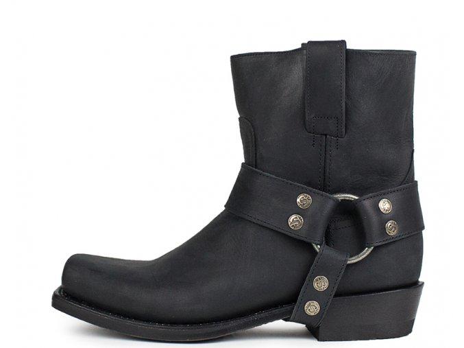 Dámská westernová obuv SENDRA 9512 PETE FLOTER NEGRO LAVA.ARRUG.