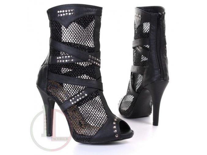 JUMEX TY3243 BLACK obuv dámská
