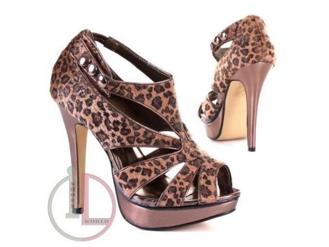 JUMEX 80726-11 CAMEL obuv dámská