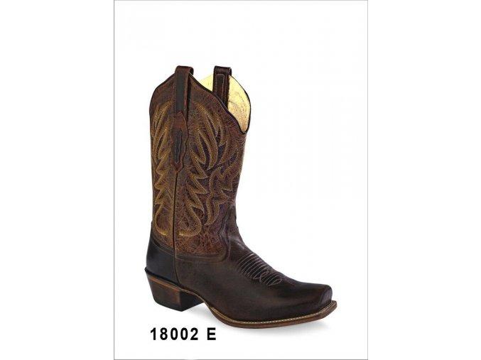 Jama Old West 18002E dámská westernová obuv