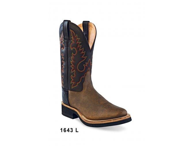 Jama Old West 1643L dámská westernová obuv