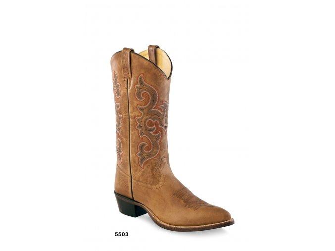 Jama Old West Boots 5503 pánská westernová obuv