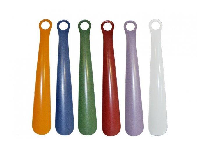 Obouvací lžíce kovová 58 cm