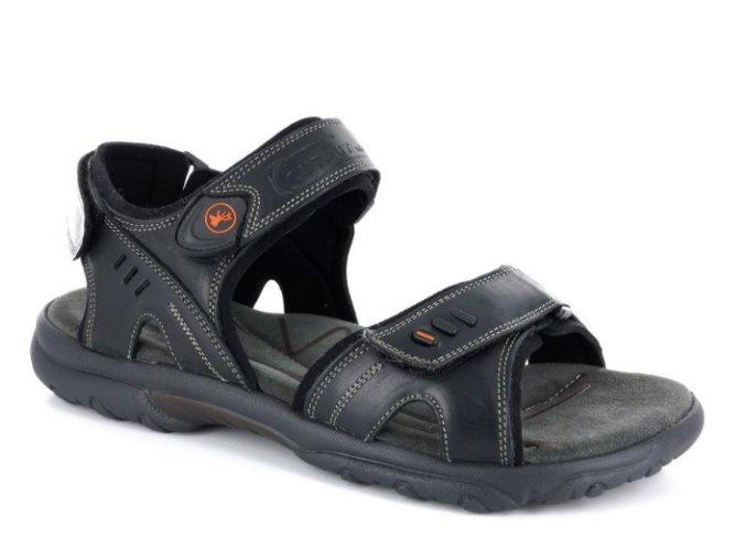Pánské sandály  GIRZA 8026 nero