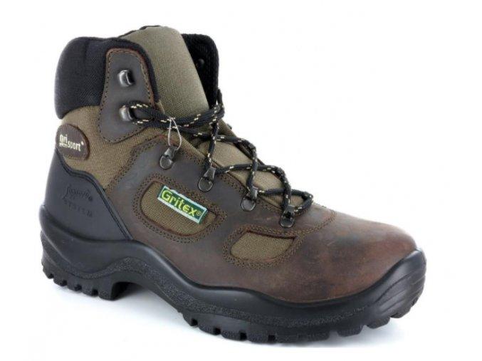 Pánská treková obuv GRISPORT  62691  MARRONE