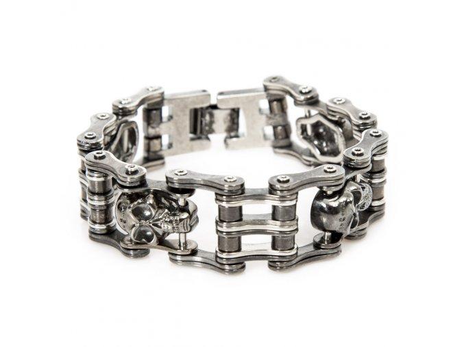 Náramek NEW ROCK řetěz ocel