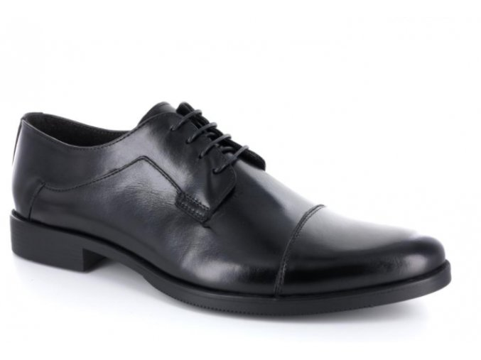 Pánské společenské boty BENSON 90071 NERO
