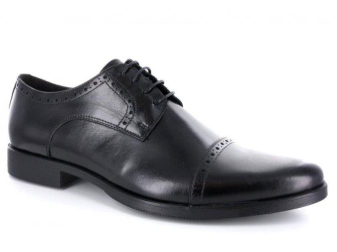 Pánské společenské boty BENSON 90070 NERO