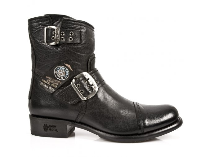 BOTY NEW ROCK M.GY05-S10 BIKER BOOTS