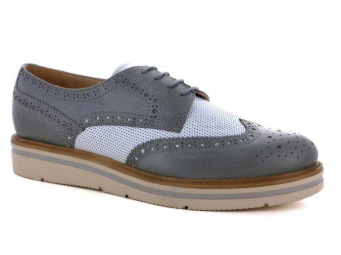Dámská obuv ELLEN BLAKE 5611 AVIO/BIANCO