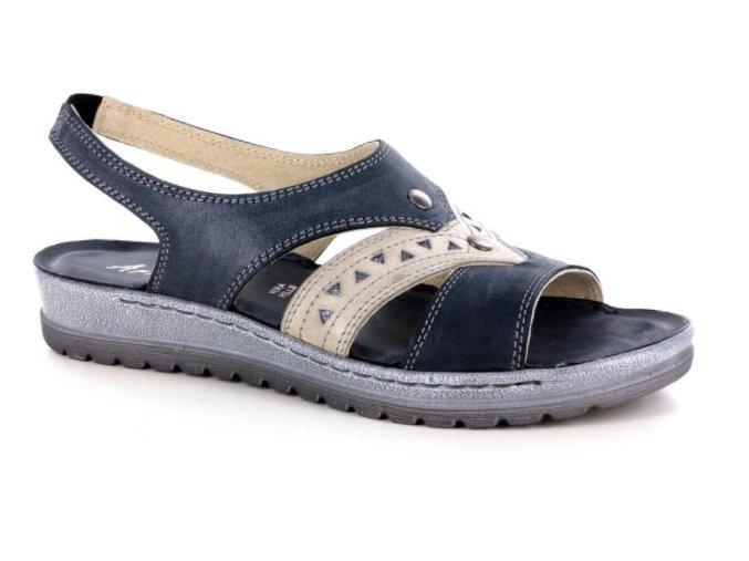 Dámské letní sandály ARIANNA 340010 NERO/MARMO
