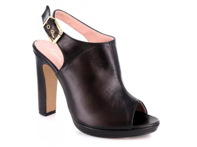 Dámské letní sandály LARA59 8014 NERO