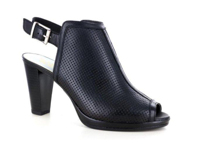 Dámské letní sandály ELLEN BLAKE 5265 NERO