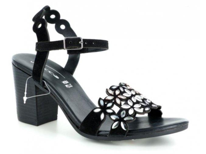 Dámské letní sandály FIOCCO 12619CW NERO